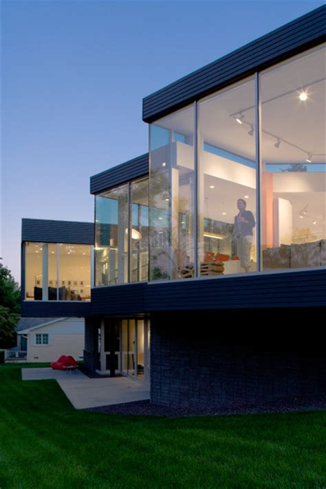 modern home design kansas city the residence modern exterior kansas city by hufft