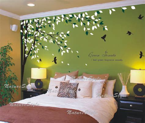 tree wall stickers for bedrooms nursery wall decal bedroom vinyl wall decals birds wall