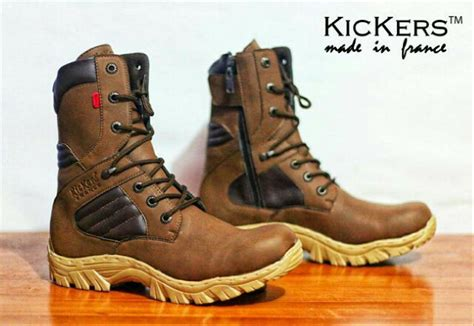 jual sepatu boots kickers delta safety  lapak usa shoes