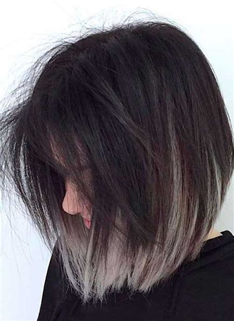 black and white color hairstyles new short hair color ideas in 2018 hairiz