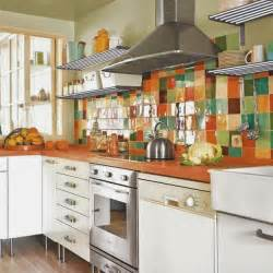 Colorful Kitchen Backsplashes by Colorful Backsplash Tiles For Kitchens Homesfeed