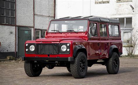 vintage land rover defender 110 1985 land rover defender 110 v8 low mileage olivers