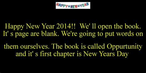 we ll sleep when we re a novel books happy new year 2014 we ll open the book it s page are