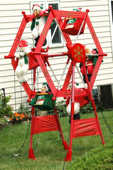 7 ft rotating animated ferriswheel gemmy ferris wheel yard decoration www indiepedia org