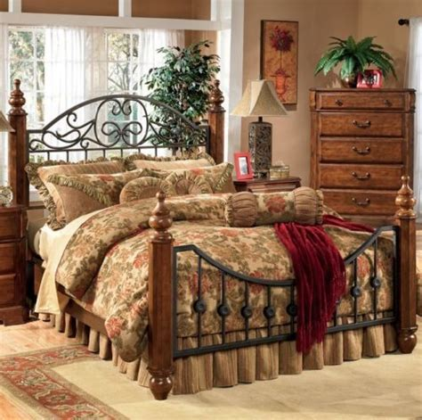 metal and wood bedroom sets 17 best ideas about country headboard on pinterest