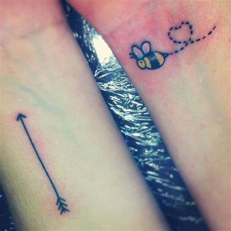 cute arrow tattoos bee tattoos and designs page 314