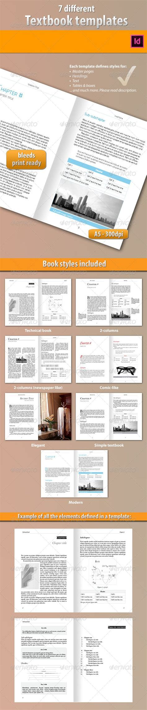 7 ebook templates a well texts and style