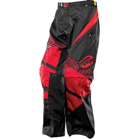 over boot motocross pants msr racing red black over the boot rockstar pants 351989