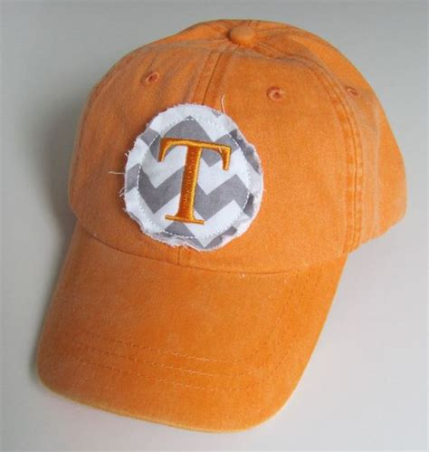 tennessee monogrammed baseball cap personalized hat
