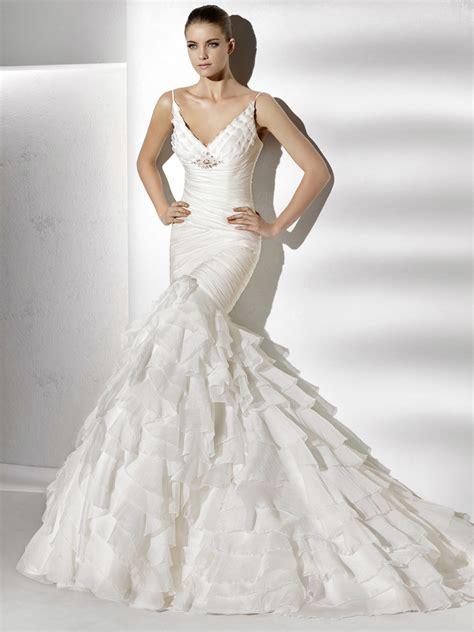 Mermaid Style Wedding Dresses by Mermaid Wedding Dresses Dressed Up