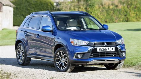 mitsubishi crossover 2016 mitsubishi asx facelift launched in the uk priced from
