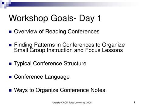 pattern language conference ppt conferring with readers part 1 powerpoint