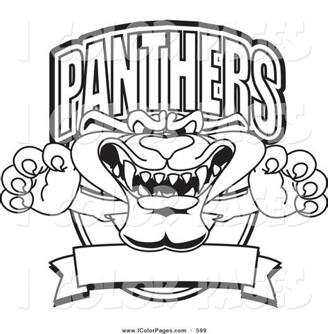 free carolina panther coloring pages