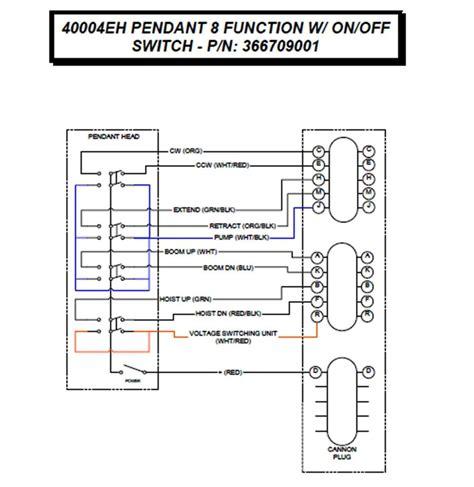 auto crane 3203 wiring diagram wiring diagram with