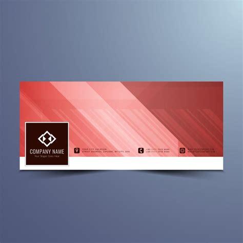 design a banner for facebook red banner design for facebook timeline vector free download