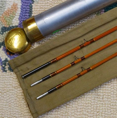 used one fly rod for sale vintage bamboo rods and collectible fly fishing tackle