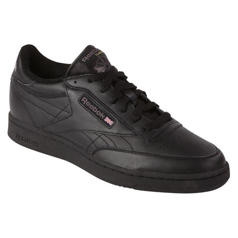 wide athletic shoes reebok s classic club c black casual athletic shoe