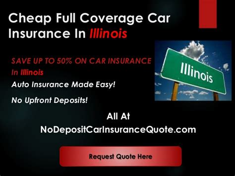 cheap light company with no deposit cheap auto insurance companies in illinois with full coverage