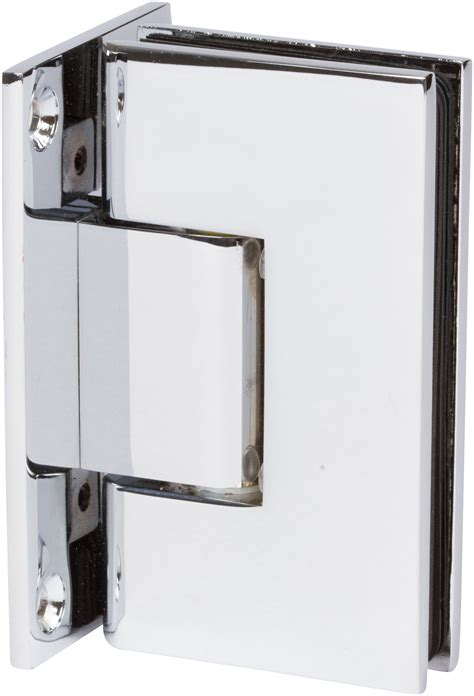 Heavy Duty Glass Door Hinges Heavy Duty Wall To Glass Shower Hinge In Chrome Finish
