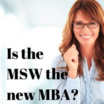 Usc Mba Concentrations by The Msw Pivots To The Business World Msw Usc