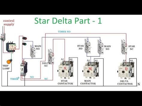 delta wiring diagram with timer wiring diagram and