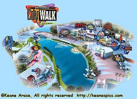 printable maps universal studios orlando printable map of citywalk universal studios orlando