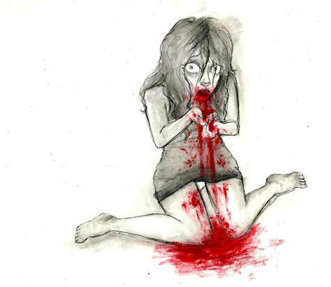 vomiting blood phobias vomit blood by inkvelvet on deviantart