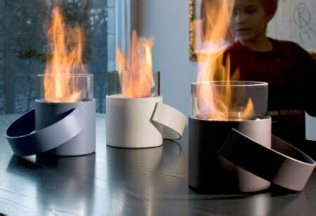 Portable Smokeless Fireplace by Portable Fireplace By Conmoto Home Decorating Trends