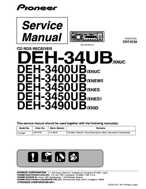 pioneer deh 1050e wiring diagram wiring diagram and