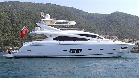 sunseeker london list ft motor yacht abby grace  sale