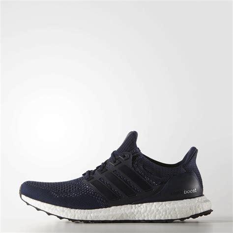 Adidas Boost For Mens Import adidas mens ultra boost running shoes collegiate navy silver metallic tennisnuts