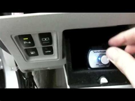 installing a remote bass knob in the dash of 2007 lexus