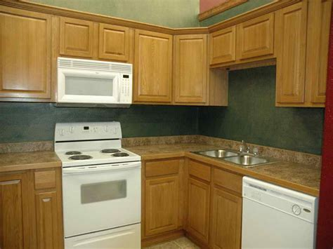 oak cabinets with what color walls home design and decor reviews