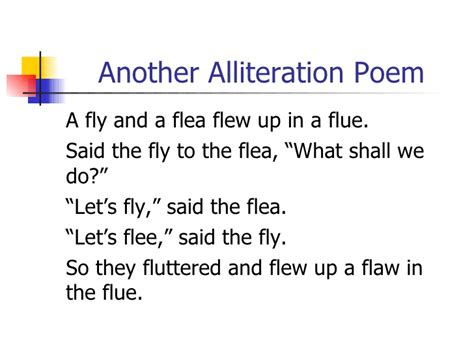 alliteration poem template poetry