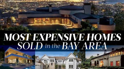 these are the most expensive homes sold in the bay area in