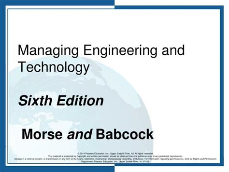 statistics for engineering and the sciences sixth edition textbook and student solutions manual books ppt managing engineering and technology sixth edition