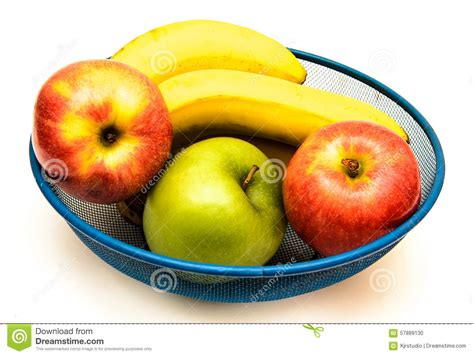 m s fruit bowl fruit bowl on white stock photo image 57889130