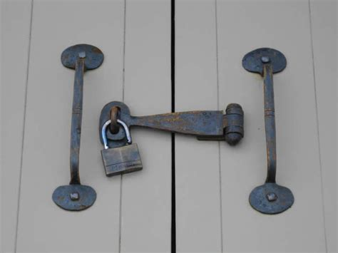 Barn Door Lock Systems Sliding Barn Door Lock Robinson House Decor