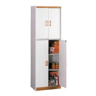 Kmart Pantry by Dorel Home Furnishings White Deluxe Pantry With Oak Trim Home Storage Organization