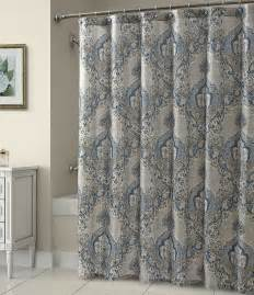 croscill damask shower curtain dillards