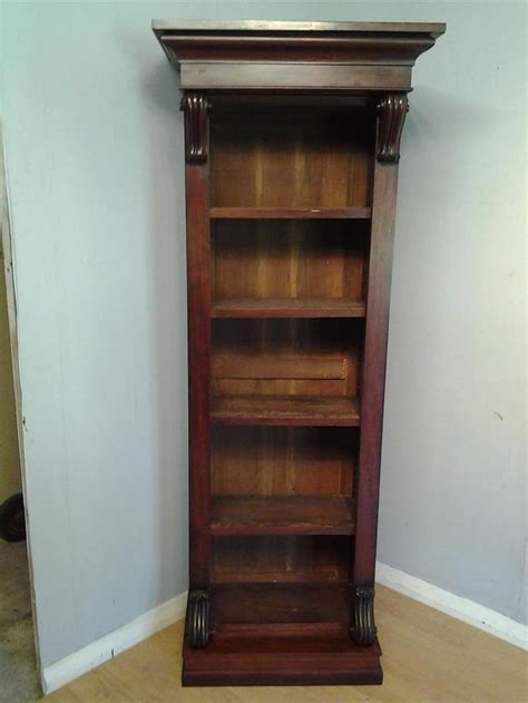narrow mahogany bookcase 25 best ideas about narrow bookcase on