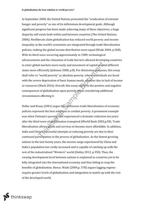 Thousand Word Essay by 1000 Word Essay Pols1006 Introduction To International Relations Contemporary Global Issues