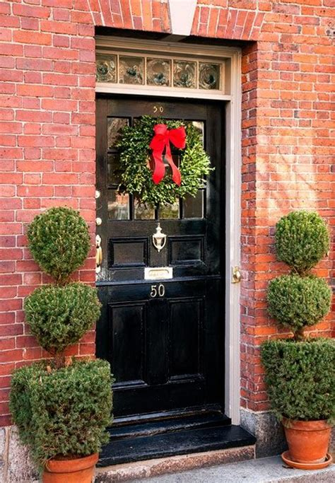 Front Door Defined By Topiaries Front Door Decor Pinterest Front Door Topiary