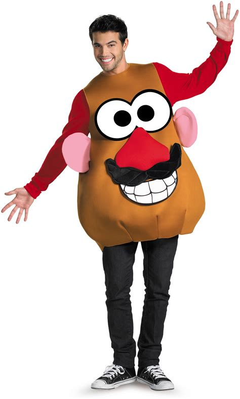Potato Costume by Mr Mrs Potato Deluxe Costume Costumes Au