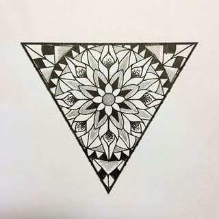tattoo mandala triangle mandalas google and tri 225 ngulos on pinterest