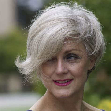degrees of gray hair style at a certain age american 50 style blogger