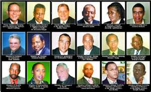 government ministers of jamaica