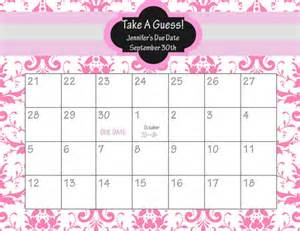 Baby Calendar Template by Baby Due Date Calendar Template Calendar Template 2016