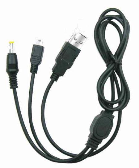 Kabel Data Psp k 248 b usb data kabel oplader kabel for psp billig tilbud