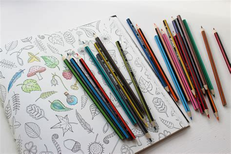 pencils for coloring books johanna basford colouring for grown ups product news
